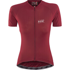 Northwave Allure SS Jersey Women bordeaux